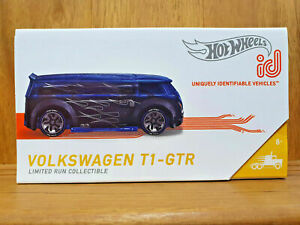 Hot Wheels ID 2020 SPEED RIGS 01/04 VOLKSWAGEN T1-GTR in SPECTRAFLAME BLUE/BLACK
