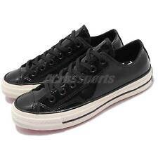 Converse Chuck Taylor All Star 70 1970s Patent Leather Black Low Shoes 162438C