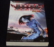 BATTLE ANGEL ALITA Vol.8 Book Manga Graphic Novel Comic