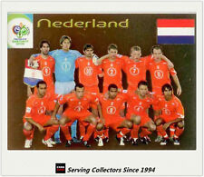 2006 Germany World Cup Soccer Country's Team Shot Foil Card No25 Nederland