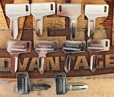 10 keys Yanmar & Takeuchi Excavator Heavy Equipment Ignition