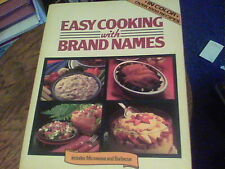Easy Cooking with Brand Names a Lorraine Greey Book s39