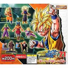 Capsule Toys Gashapon Hg Dragon Ball Z21- 7 Pics Set