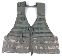 MOLLE II FLC Fighting Load Carrier Vest ACU Digital Tactical Military LBV Good