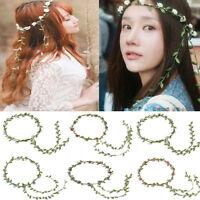 Sweet Womens Boho Style Floral Flower Hairband Wedding Party Garland Headband