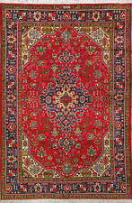 """6' 7"""" x 9' 10""""  Tabriz, Wool,  Authentic Hand Knotted Persian Rug"""