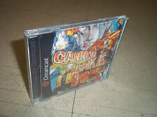 CANNON SPIKE.SEGA DREAMCAST NTSC.EMPTY REPLACEMENT CASE+INLAYS ONLY.