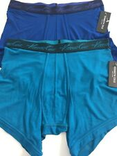 Kenneth Cole New York Men's Stretch Blue Boxer Brief Size Medium (set of 2)NWT