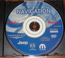 Chrysler Dodge Jeep Rec Rb1 Gps Navigation Map Update Dvd Disc - ver 05064033Al (Fits: Chrysler)