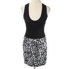NWT LAmade Size S Black & White Pattern Skirt Racerback Tank Dress - CC290