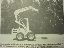 JOHN DEERE 570 SKID STEER LOADER OPERATORS MANUAL