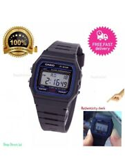 Casio F91w Classic Digital Retro Sports Alarm Black Watch