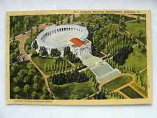 Linen Postcard Arlington Memorial Amphitheatre Va. C Teich New c.1937
