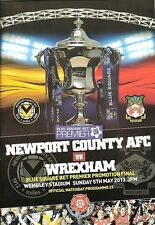 CONFERENCE PLAY OFF FINAL 2013 Newport County v Wrexham