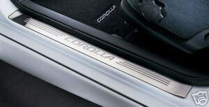 Toyota Corolla 2003 - 2008 Front Steel Door Sill - OEM NEW!