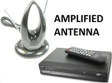 Apex DT502 Digital to Analog Converter Box +Amlified TV Antenna Package New