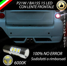 LAMPADA RETROMARCIA 15 LED P21W BA15S CANBUS SMART FORTWO 451 CABRIO NO ERROR