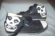 Vintage 80s Vision Street Wear The Misfits High Top Shoes Men's Size 7 Usa 6 Uk