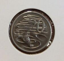1997  20 cent unc coin