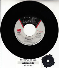 """GENESIS No Reply At All & Abacab PHIL COLLINS 7"""" 45 vinyl record NEW"""