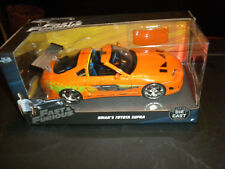 Jada Toys Fast and Furious Die Cast Car - Brian's Toyota Supra