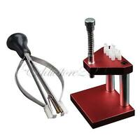 Watch Repair Tools Puller Plunger Remover&Hand Presto Presser Press Fitting Kit