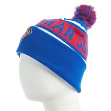 NWT DC Comics Superman Logo Adult Men's Red Blue Winter Snow Ski Hat Cap Beanie