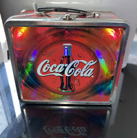 1990's Coca Cola  Tin Lunchbox Traditional Style