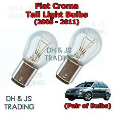 Fiat Croma Tail Light Bulbs Pair of Rear Tail Light Bulb Lights MPV (05-11)