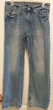 American Eagle Outfitters Low Rise Boot Distressed Womens Size 26 Denim Jeans