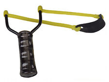Sport Schleuder Futterschleuder Zwille Steinschleuder mit Kugel-Magazin im Griff