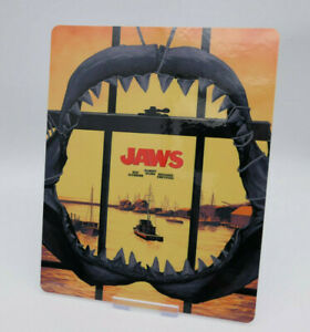 JAWS - Glossy Bluray Steelbook Magnet Cover (NOT LENTICULAR)