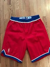 f32acaf4a 1992 93 Washington Bullets PERVIS ELLISON Authentic Game Used Worn Shorts  NBA