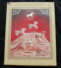 Vintage Limited Edition 'Tobin Farley' Carousel Horse by Lefton Co.