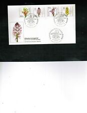 GERMANY 1984 FLOWERS set of 4 on FDC  #B623-6 SEE SCAN  cat $8.30 LOT GERMANY G2