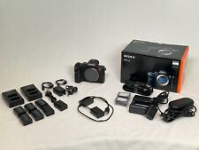 Sony Alpha a7R II 42.4MP Digital Camera - Black (Body Only) with EXTRAS!