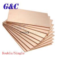 1PCS/5PCS/10PCS 10cmx15cm Double/Single PCB Copper Clad Laminate Board