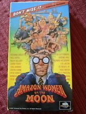 Amazon Women on the Moon VHS Carrie Fisher Sybil Danning Paul Bartel