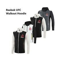 Reebok Men's X UFC FK Walkout Full Zip Long Sleeve Hoodie Jacket Tag-less NEW