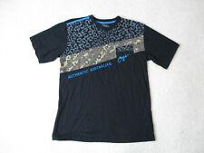 Coogi Shirt Size Adult Extra Large Black Blue Leopard Cheetah Casual Mens