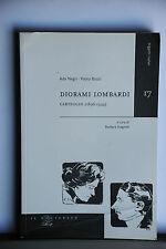 ADA NEGRI - PAOLO BUZZI - DIORAMI LOMBARDI - CARTEGGIO 1896 - 1944