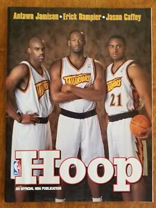 1998-99 Golden State WARRIORS NBA Basketball Program