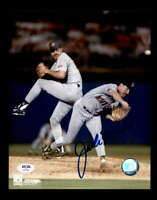 Jack Morris PSA DNA Coa Hand Signed 8x10 Twins Photo Autograph