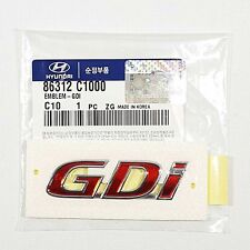 OEM Genuine 86312C1000 Trunk GDi Logo Emblem For HYUNDAI SONATA i45 2015-2016