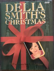 Delia Smith's Christmas by BBC 1991 Hardback Book with fly Cover!  130 Recipes!