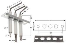 Falcon Zündelektrode Gruppe für Fritteuse G2840, G2845F, G2841, G2842 ø 9,5mm