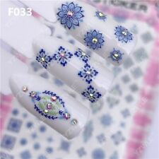 Nail Stickers Flower Style Manicure Wrap Nail Gel Nail Stickers Nail Art Decor