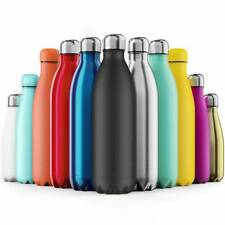 Water Bottle Sport Chilly Hot/Cold Vacuum Insulated Flask Thermal Stainless hh