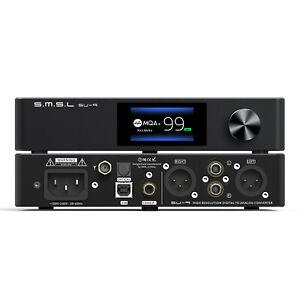 SMSL SU-9 ES9038PRO XMOS Xu216 MQA Bluetooth 5.0 APTX DSD512 768K Full Balance