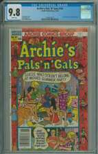 ARCHIE'S PALS 'N' GALS #161 CGC 9.8 WHITE PAGES